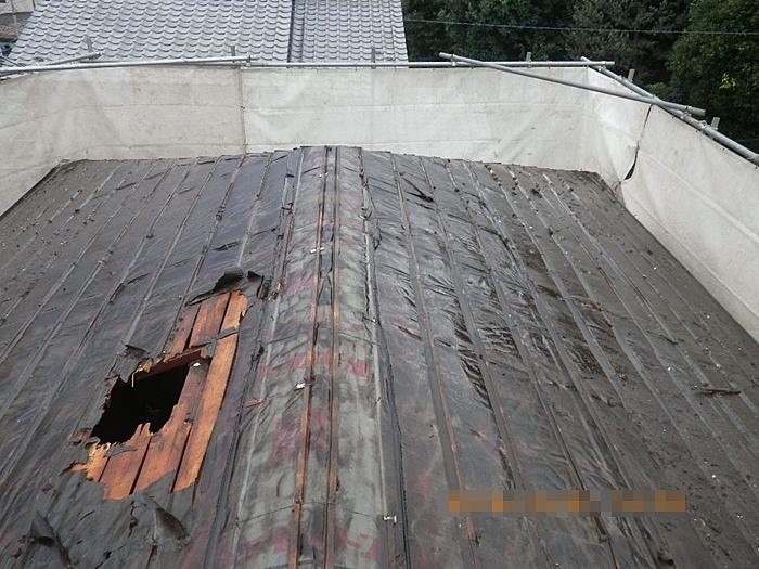 屋根散水状況