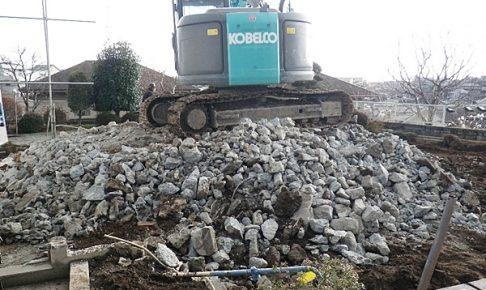 鉄筋コンクリート解体工事