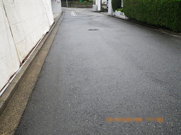 解体工事完了時の道路清掃状況