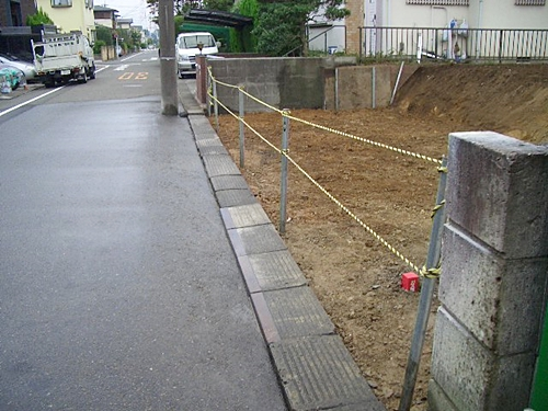 解体工事立ち入り禁止措置