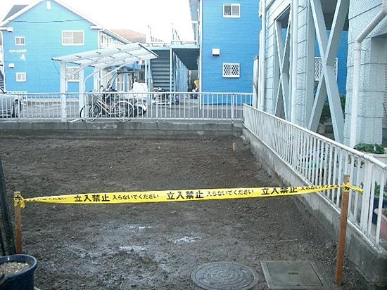 川崎市高津区解体工事完了